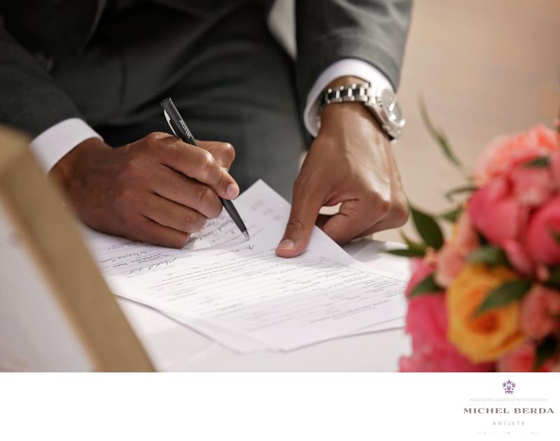Marriage license THE WESTIN HILTON HEAD ISLAND RESORT & SPA