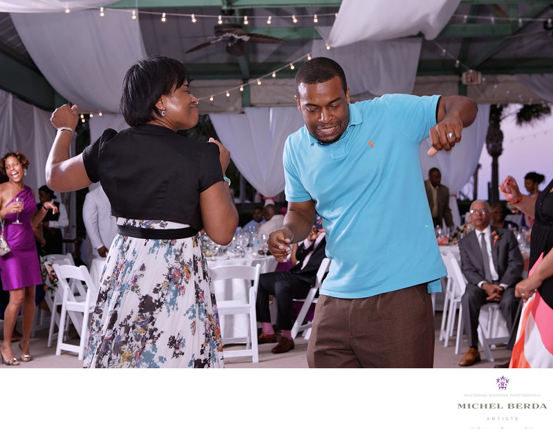 Mom dancing reception THE WESTIN HILTON HEAD ISLAND RESORT & SPA