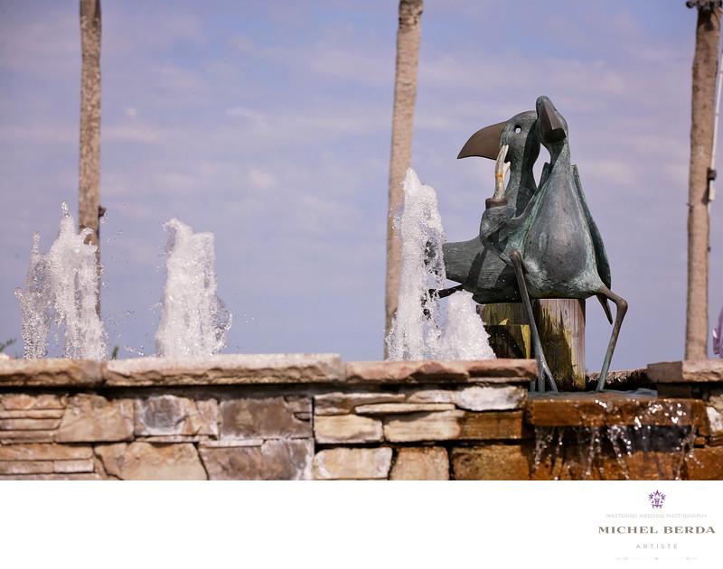 Water fountain THE WESTIN HILTON HEAD ISLAND RESORT & SPA