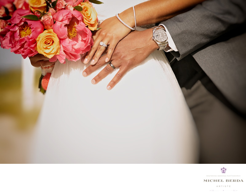 Wedding rings bride and groom THE WESTIN HILTON HEAD ISLAND RESORT & SPA