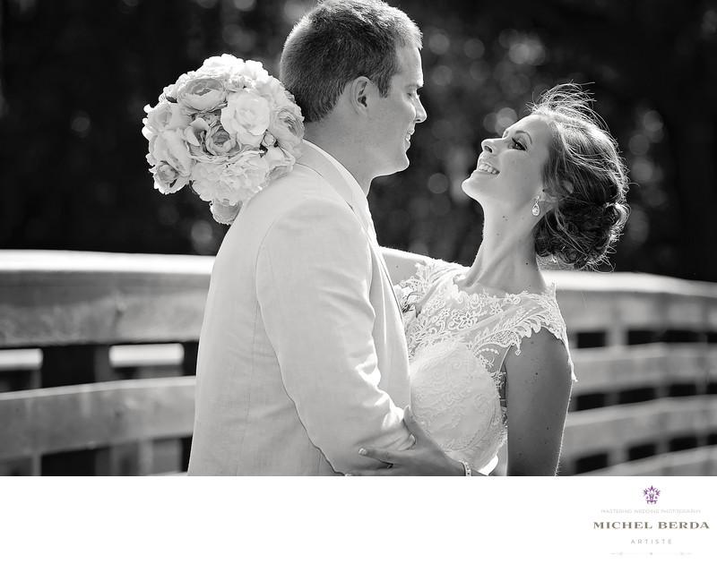 First Look B&W Weddings Palmetto Dunes Oceanfront Resort