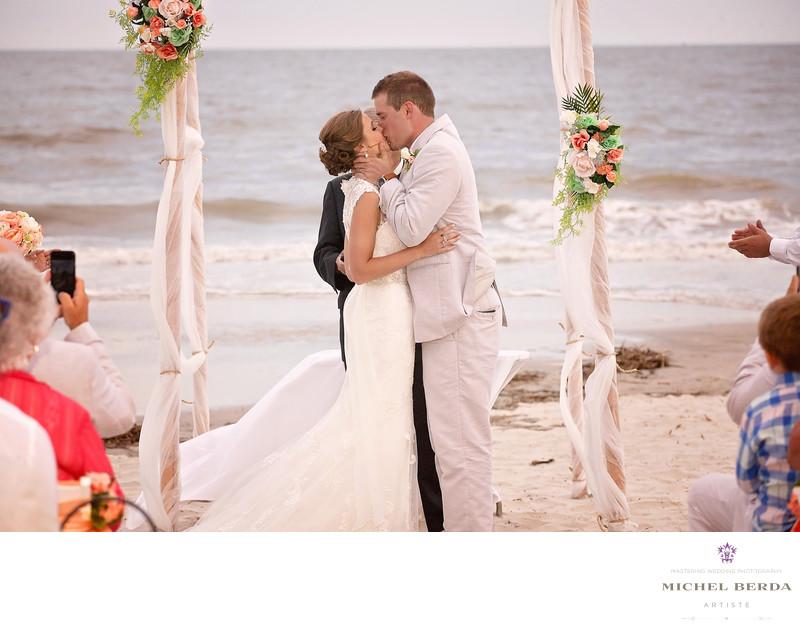 The kiss Weddings Palmetto Dunes Oceanfront Resort