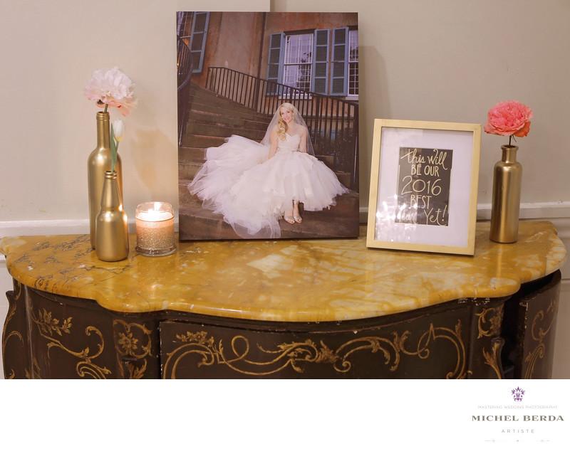 Bridal Portrait The Mills House Wyndham Grand Hotel Charleston SC
