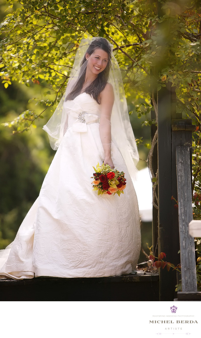 Boone Hall Plantation Bridal Portrait Photographers