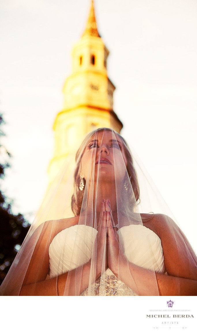 Bridal Portrait Photographer Charleston Sc