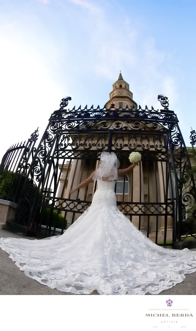 Bridal Portrait Photographers Charleston