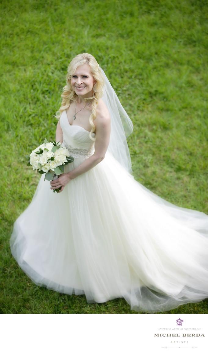 Bridal portrait Wild Dunes Resort Wedding