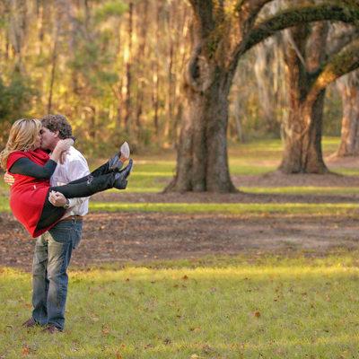 Boone Hall Plantation Engagement Photographer