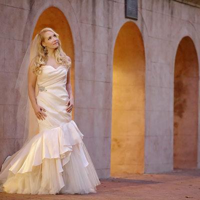 Cistern Bridal Portrait