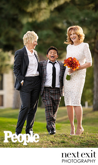 People Magazine's feature The wedding of Carol Leifer