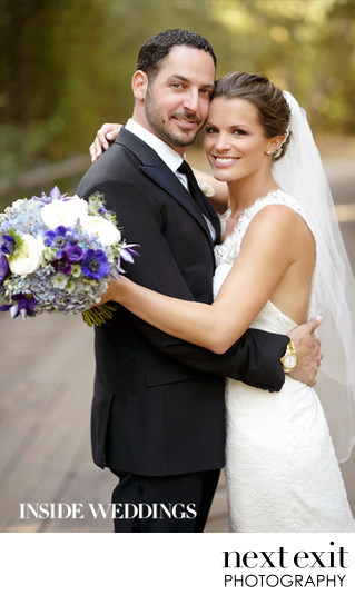 Inside Weddings Feature on Soap Star Melissa Egan