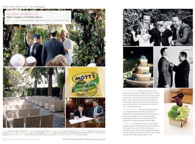 Gay Wedding Peninsula Hotel Beverly Hills Photography
