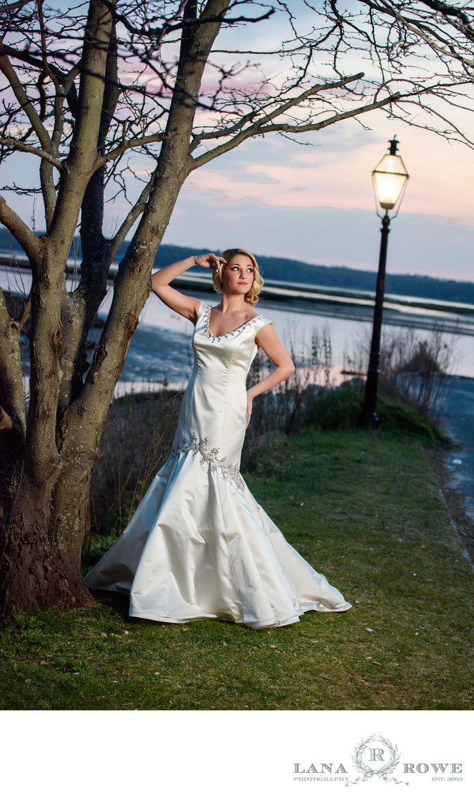Three village inn bride