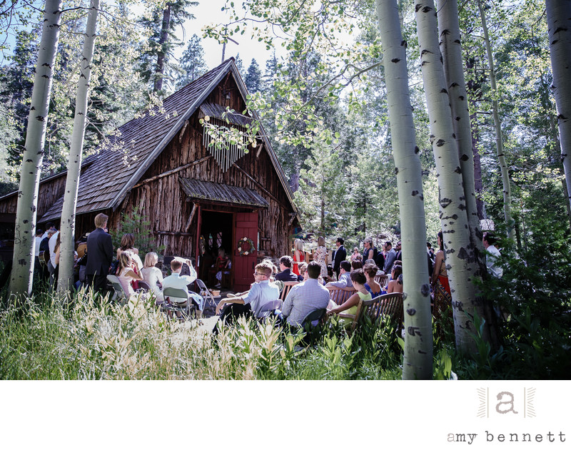 wilderness wedding in tahoe