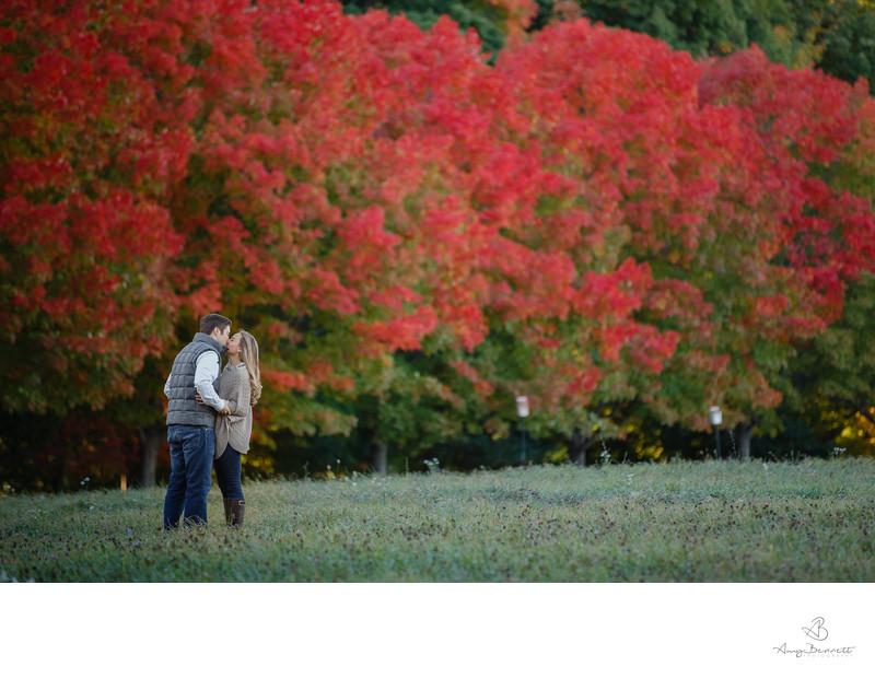 Vermont Autumn Engagement