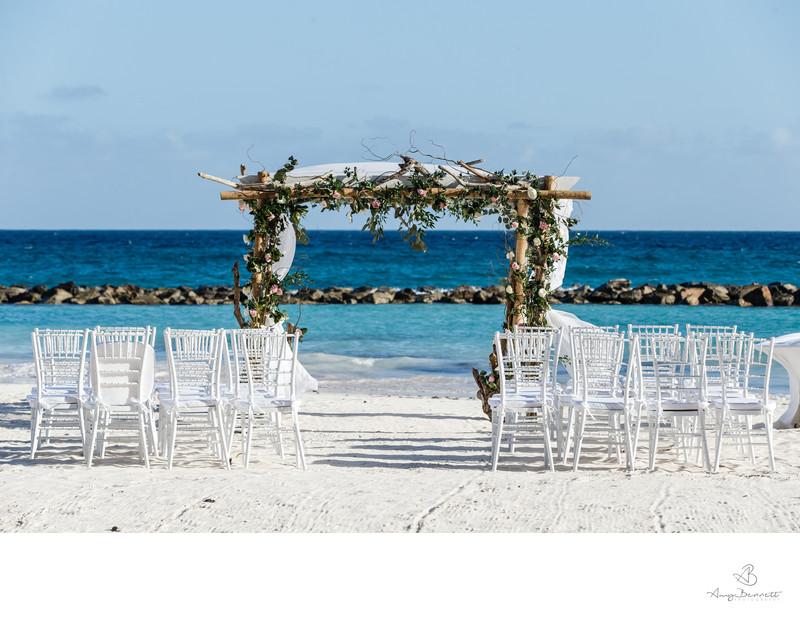 Wonderful Beach Wedding Ceremony Design