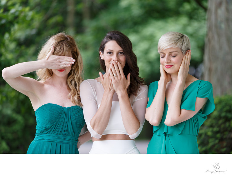 Wedding See No Evil Speak No Evil Hear No Evil