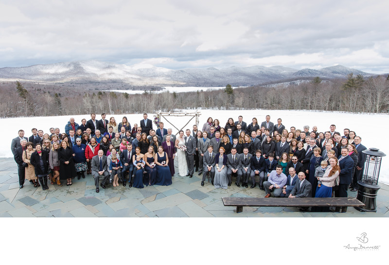 Mind-blowing Mountain Wedding