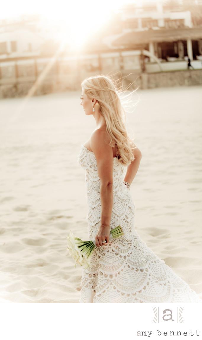 Breathtaking Bride on Beach