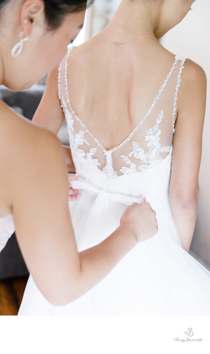 Breathtaking Wedding Dress Lace Details
