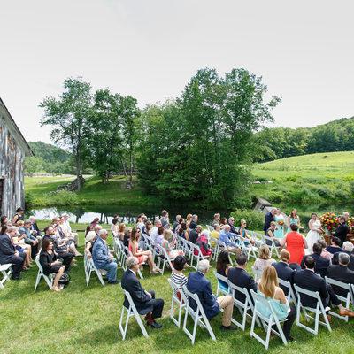 Ceremony at Scott Farm