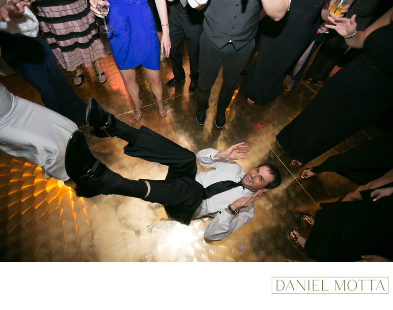 Fun Wedding Photography at Crescent Court Hotel