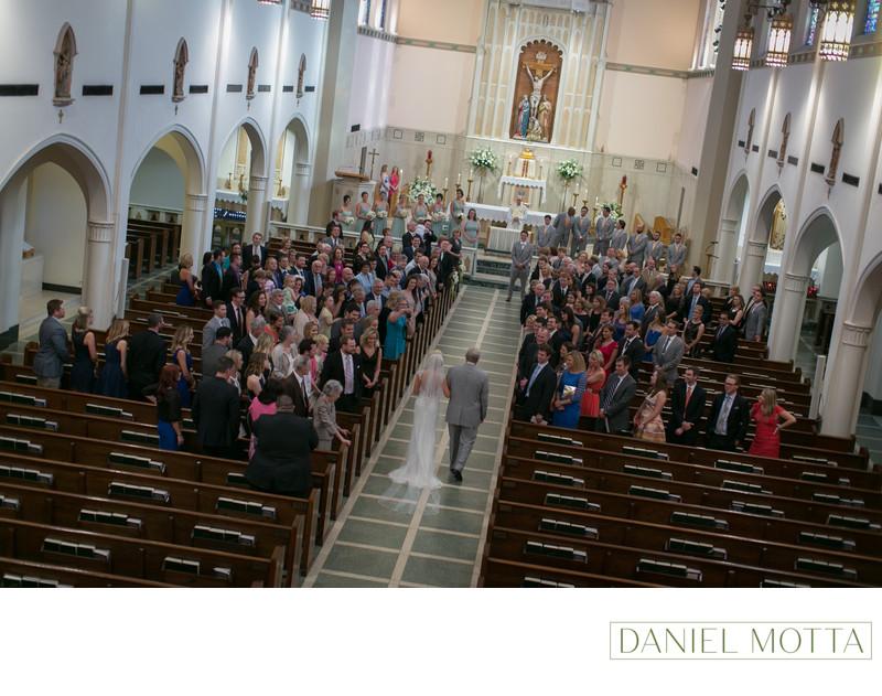 Wedding Photography at St. Thomas Aquinas Church