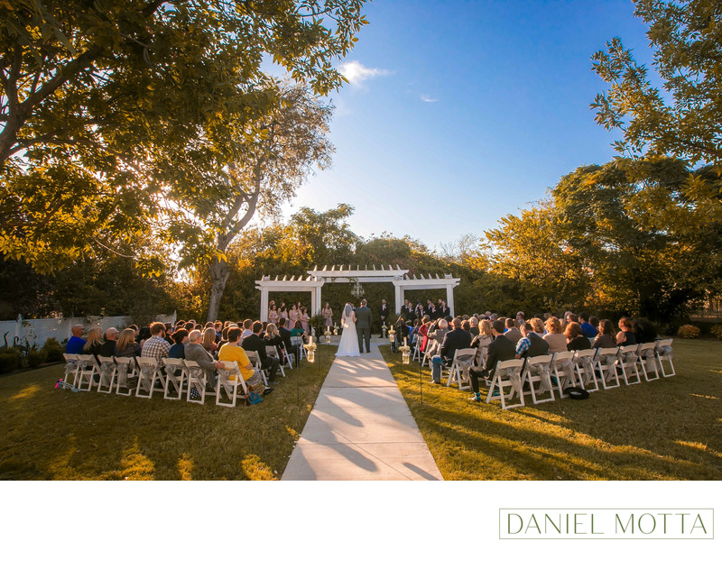Best Outdoor Wedding Location at Bingham House