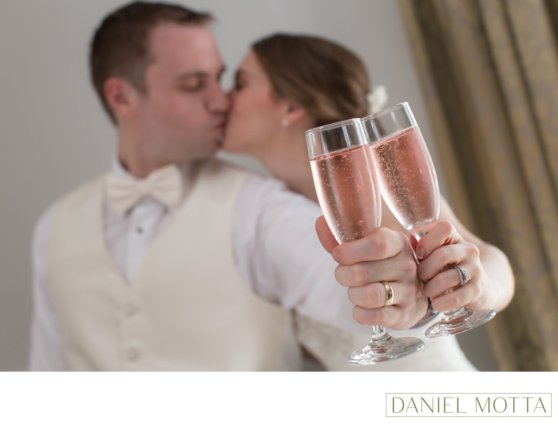 Wedding Photo at The Bingham House in Mckinney