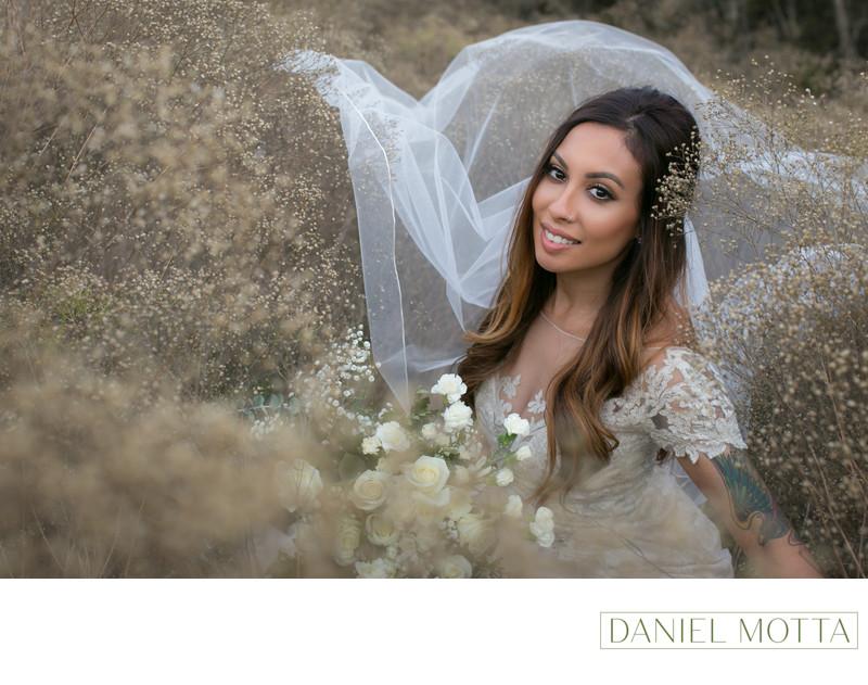 Bride at Arbor Hills Nature Preserve in Plano