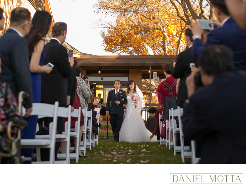 Outdoor Wedding Photo at Gleneagles Country Club