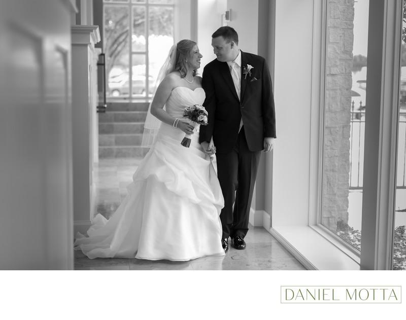Bride and Groom Photo at Prestonwood Baptist Church