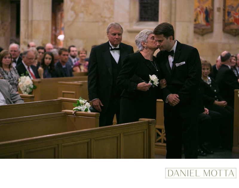Wedding Photography at Christ the King in Dallas