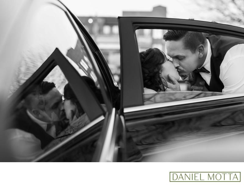 The Last Kiss at Haggard Park Wedding