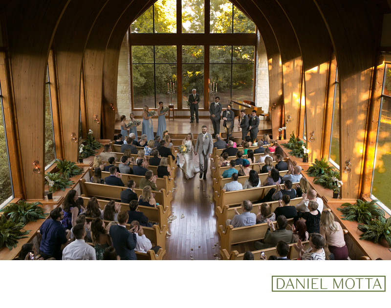Aubrey Wedding Photography at Harmony Chapel