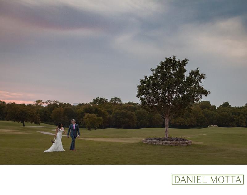 Allen Wedding Photographer at Twin Creeks Golf Club