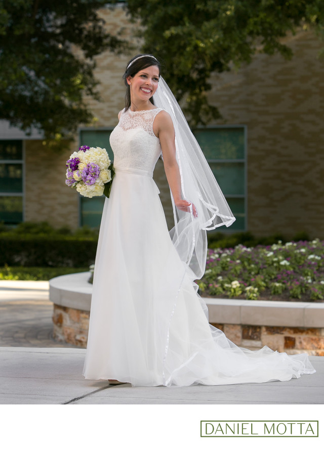 Traditional Wedding Photography Fort Worth TCU Campus