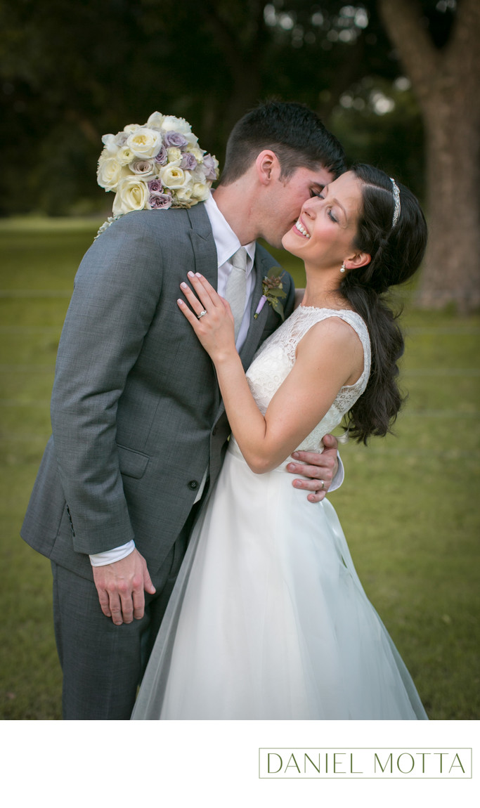 Fun Wedding Photographer at The Orchard in Azle