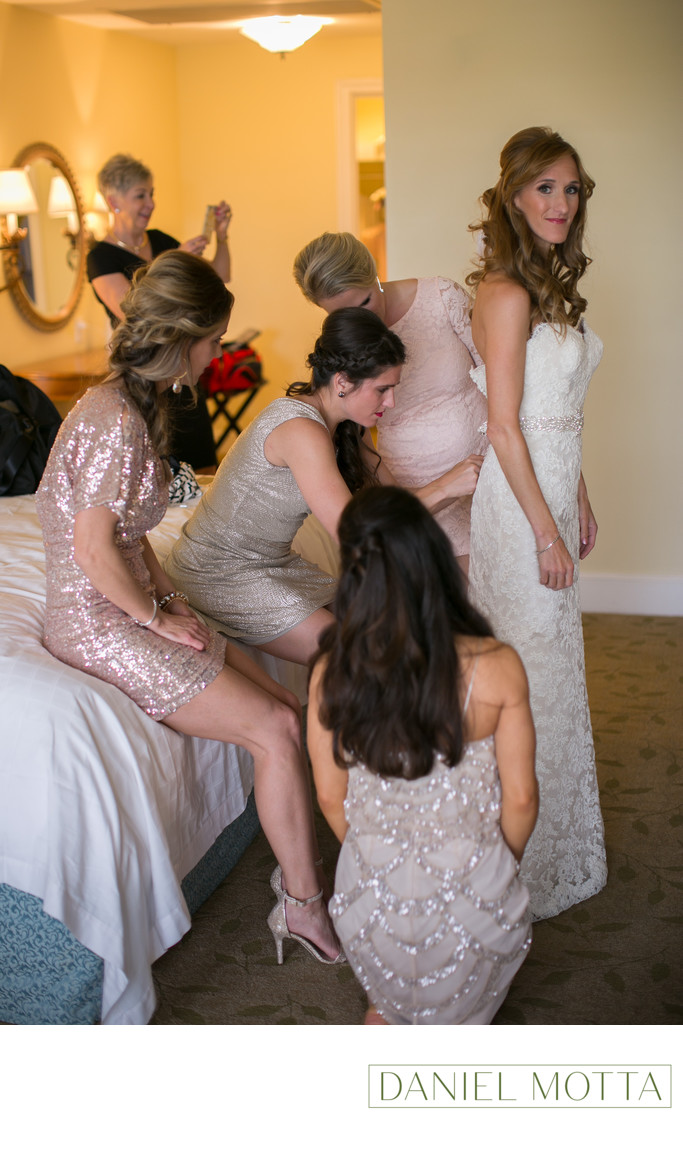 Bridesmaids Photo at Four Seasons Hotel in Irving