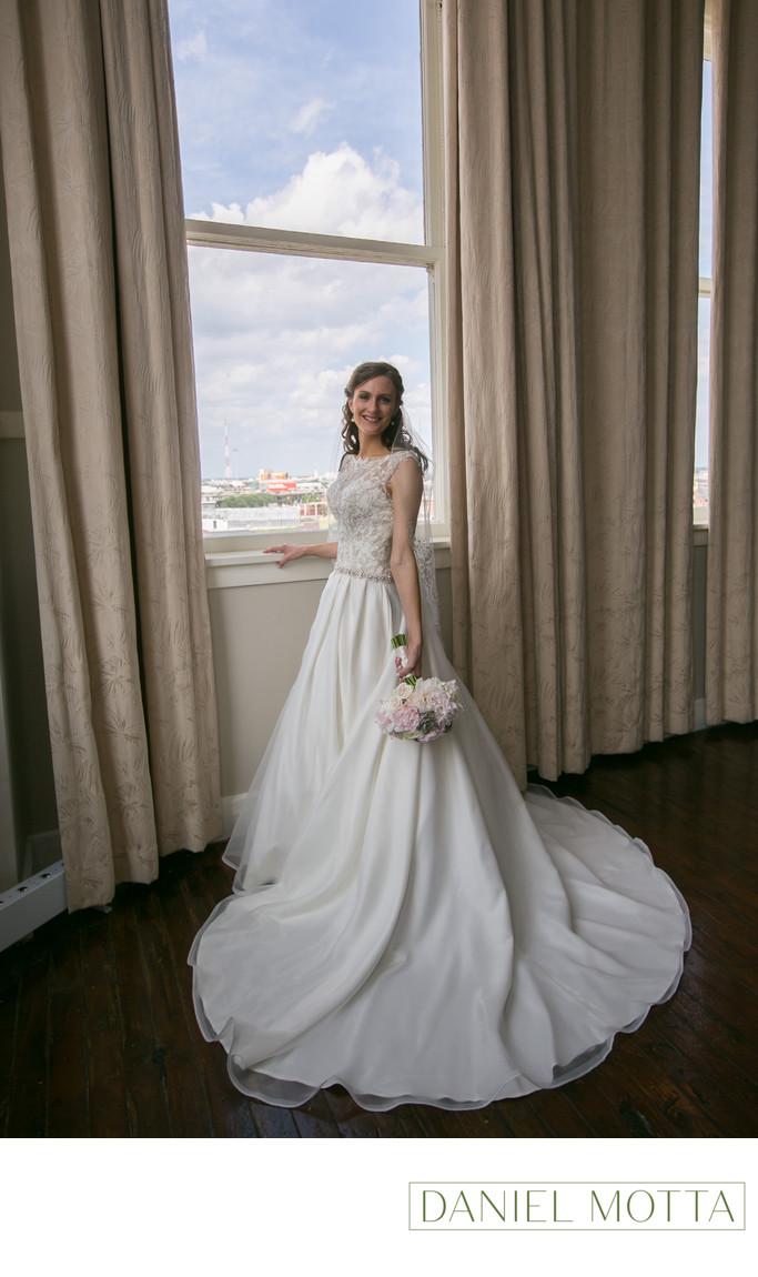 Bride at the Room on Main in Dallas