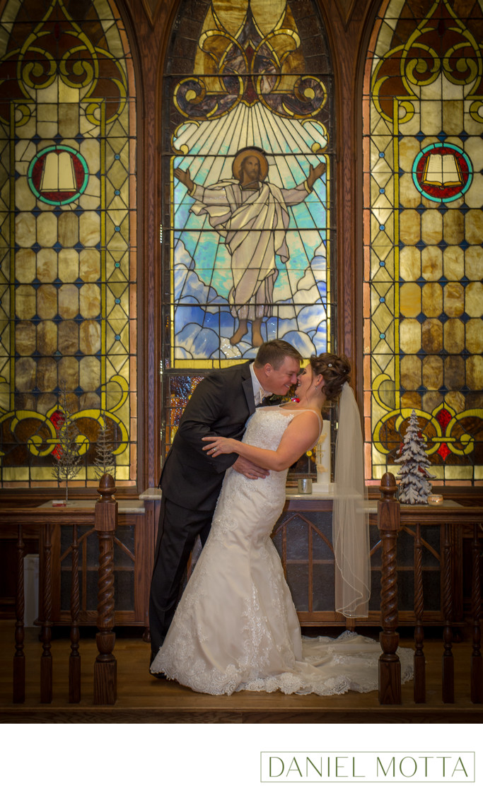 Bride and Groom in Princeton