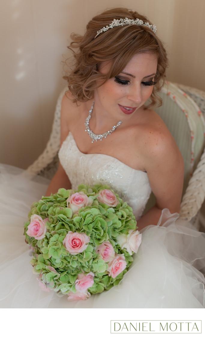 Bride at Surrey House in Mckinney
