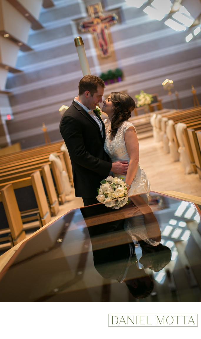 Wedding Ceremony at St. Joseph Catholic Church