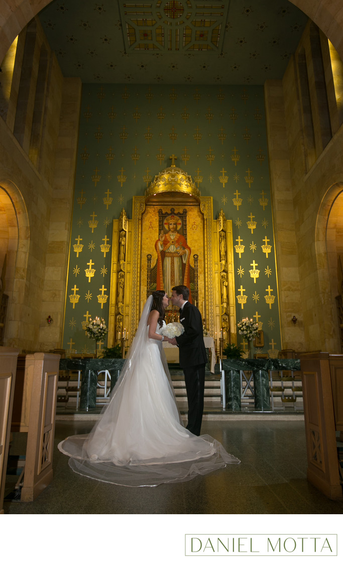 Wedding Ceremonies at Christ the King in Dallas