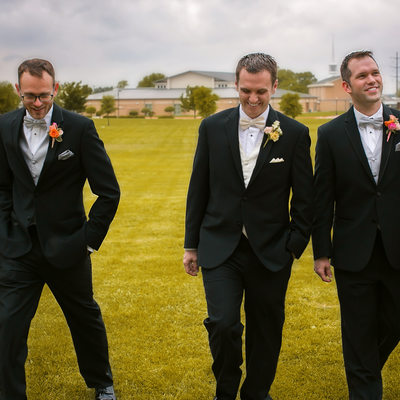 Groomsmen Photography at St. Michael the Archangel