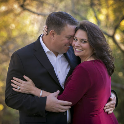 Engagement photography at Prairie2 Creek Park