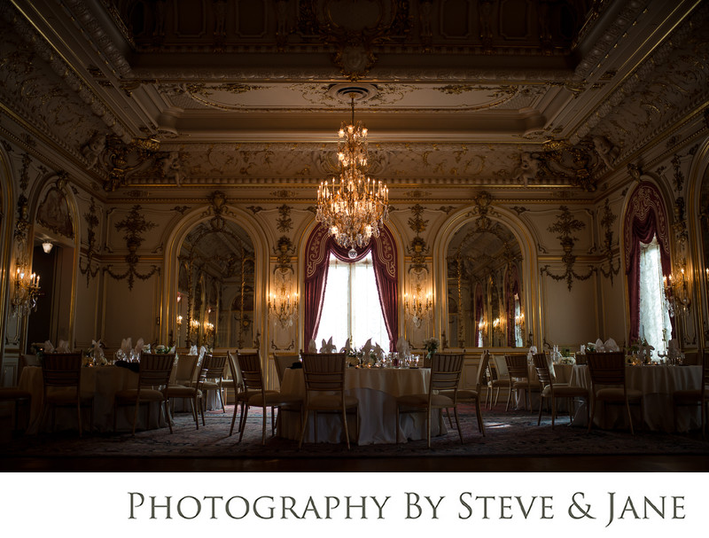Cosmos club wedding reception