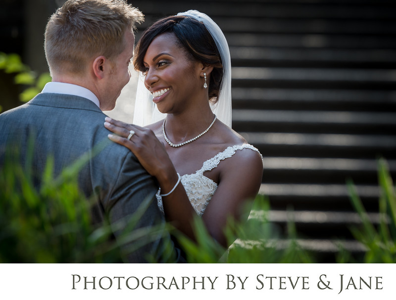 Meridian Hill Park Wedding Portraits Washington D.C.