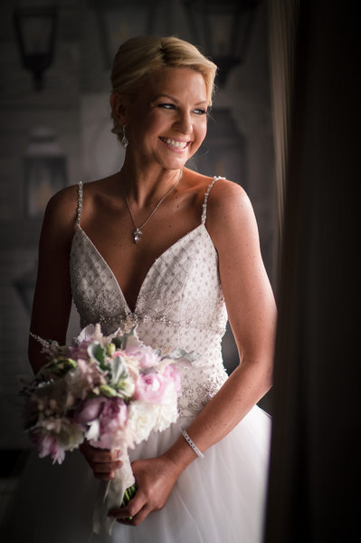 The Alexandrian Alexandria Va bridal portrait