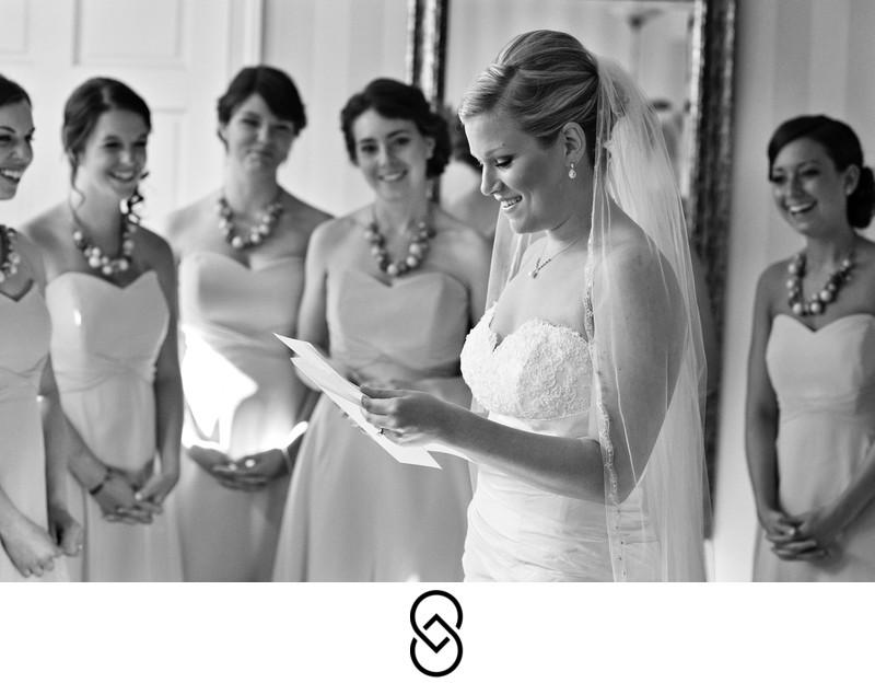 Chesapeake Bay Beach Club bride and groom